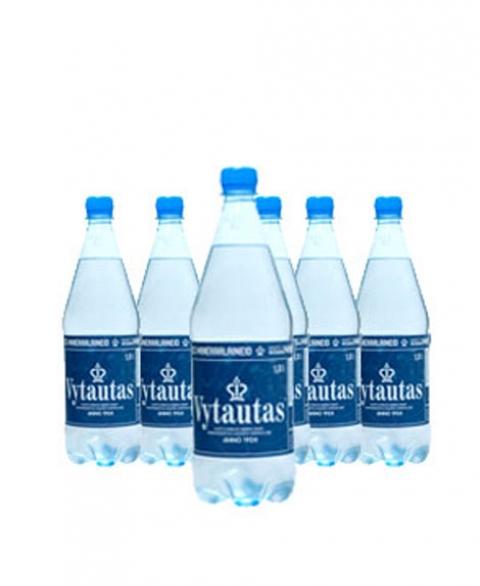 WODA WYSOKOZMINERALIZOWANA  VYTAUTAS 1L PET 6 SZTUK