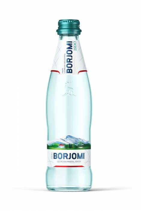 Woda Borjomi 330 ml szkło