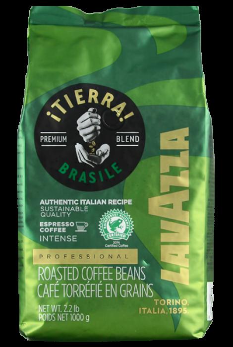 Lavazza Tierra Brazil Intense Espresso 1kg ziarnista