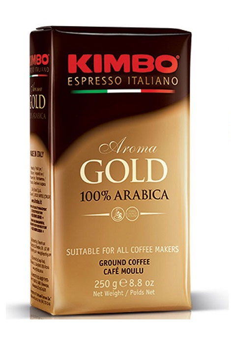 KAWA KIMBO AROMA GOLD 250G MIELONA