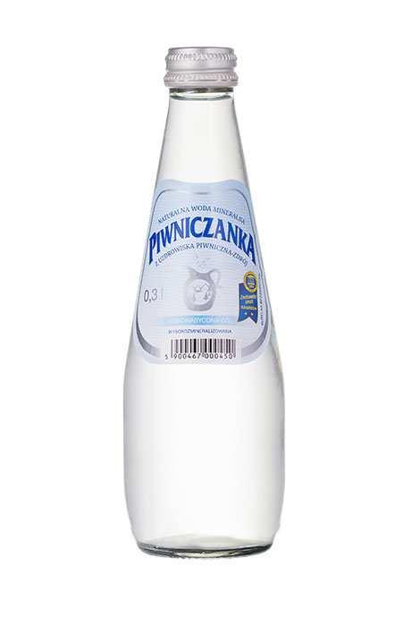 Woda Piwniczanka Niegazowana Wysokozmineralizowana 330 ml
