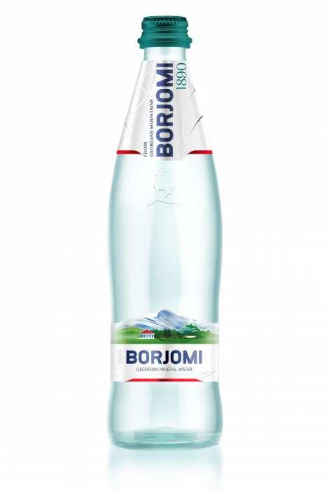 Woda Borjomi 500 ml szkło