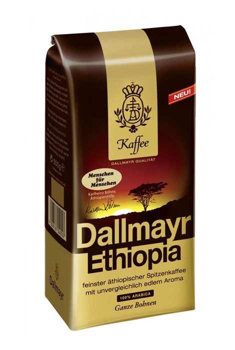 KAWA DALLMAYR ETHIOPIA ZIARNISTA 500G