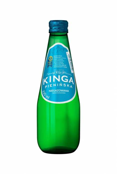 Woda Kinga Pienińska Niegazowana 330 ml Szkło
